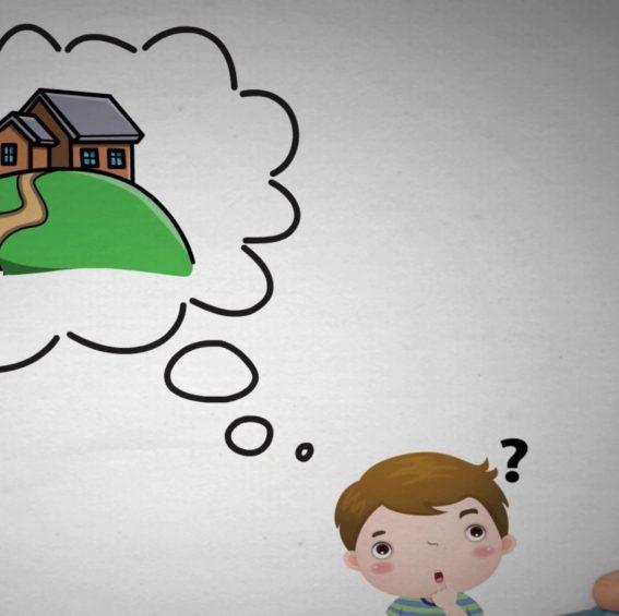 A imagem da Casinha Mental para crianças