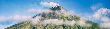 Um vulcão em extinção